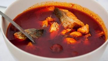 Hungarian Fisherman's Soup