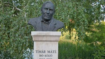 Bust Sculpture of Máté Tímár