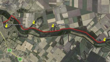 12.   Körös River Confluence touring route II.